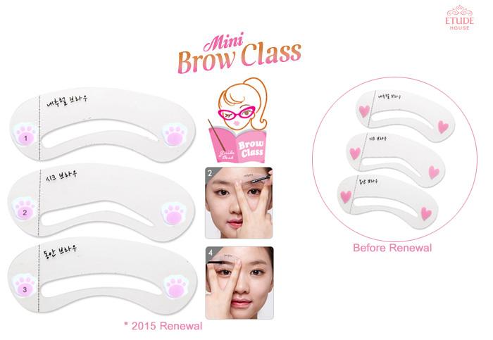 Etude House Mini Brow Class Drawing Guide Korean Cosmetics K