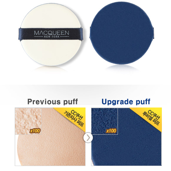 Details About Macqueen Upgrade Air Cushion Sunblock Puff Sponges Aircushion Puff Korean Makeup